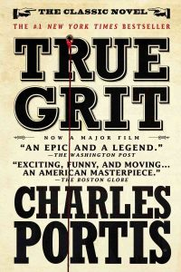 True Grit book cover - NEA Big Read selection for Menomonee Falls